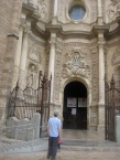 Entering the Cathedral in Valencia- it holds the Holy Grail so we can cross seeing in off our bucket list.