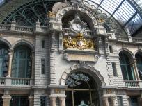 Antwerp train station.