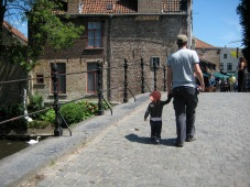 Bruge was our favourite stop of the trip.