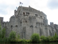 Castle in Ghent.