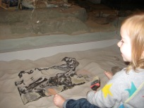 She was very much into burrying it further for future generations to discover.