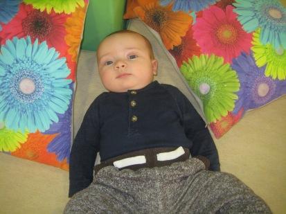 Max enjoying Toddler Sense.