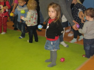 Egg and spoon race.