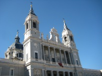 Cathedral in Madrid.