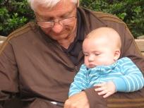 Grandpa falls asleep everywhere!